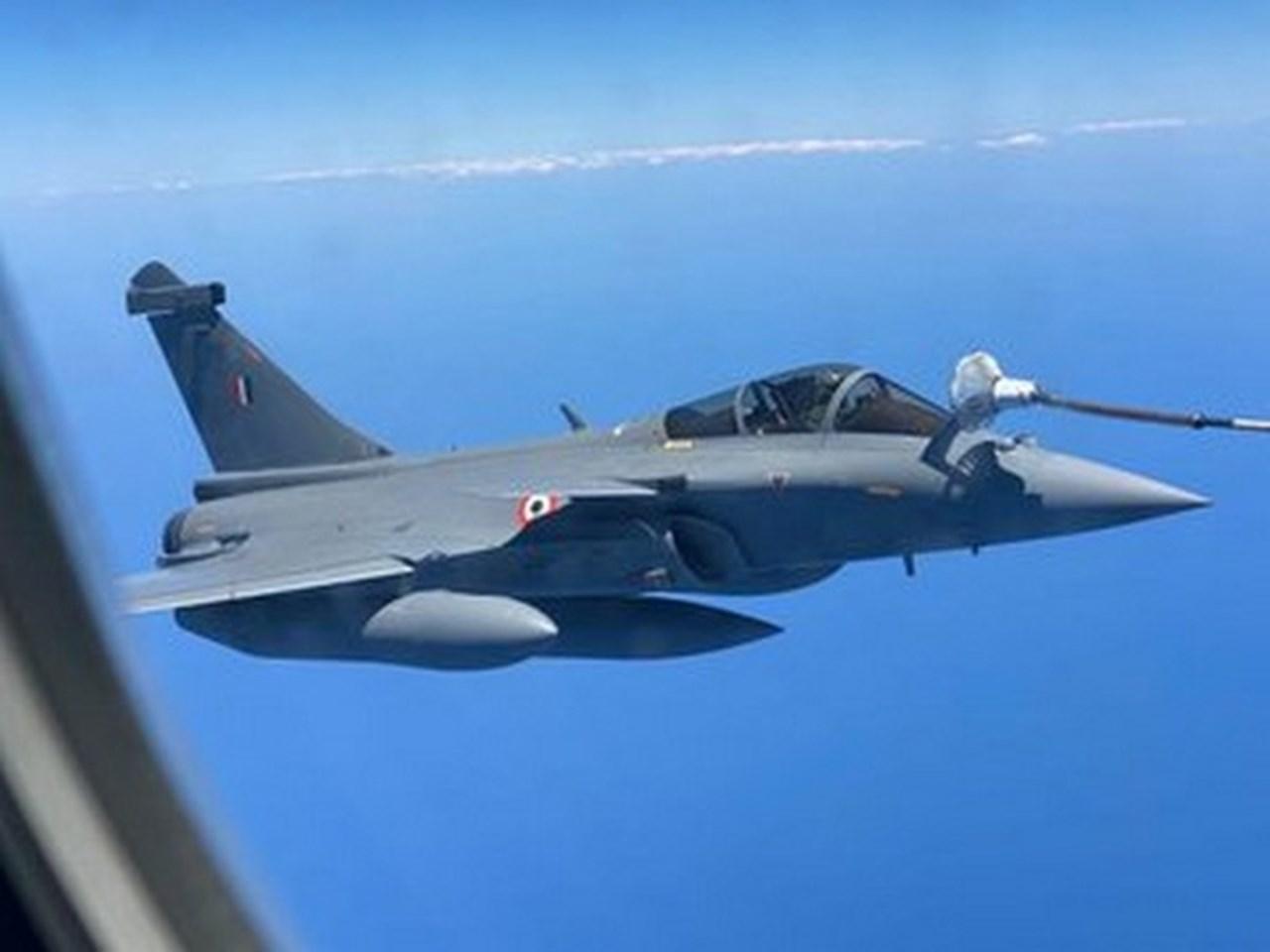 Indo-French Exercise Desert Knight-21 begins_40.1
