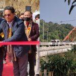 India's longest Road Arch Bridge inaugurated in Meghalaya