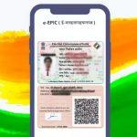 """Election Commission rolls out digital voter ID cards """"e-EPIC"""""""