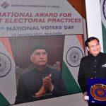 Meghalaya wins National Award for Best Electoral Practices 2020