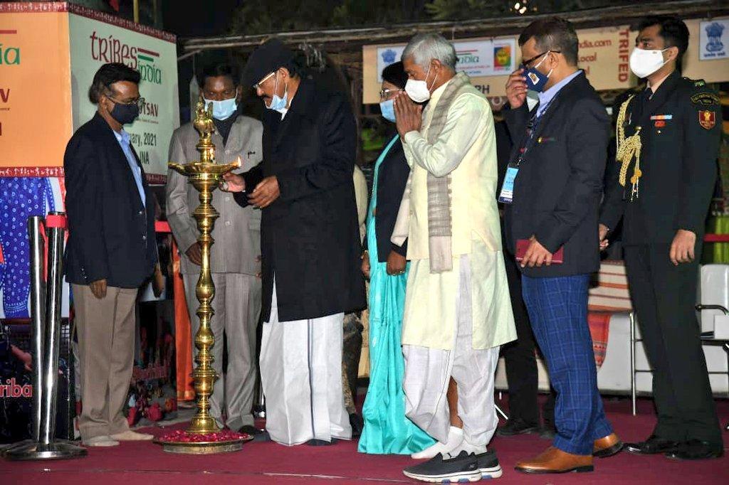 "Venkaiah Naidu Inaugurates National Tribal Festival ""Aadi Mahotsav""_40.1"