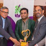 A.R. Rahman presented 'Alert Being Icon Award'