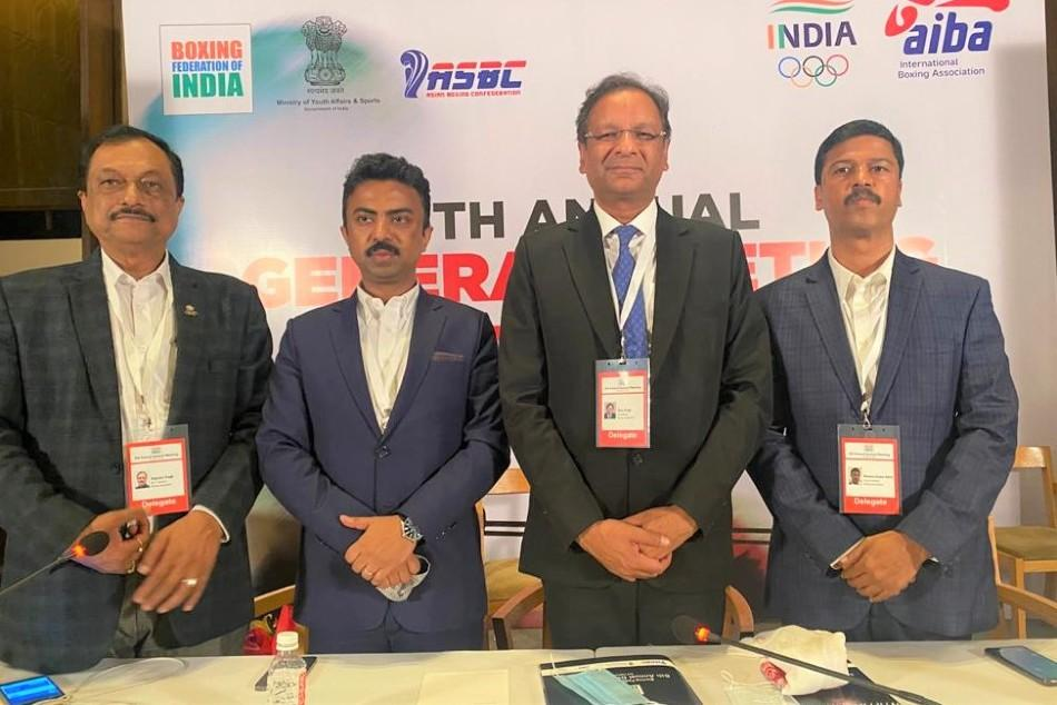 Ajay Singh re-elected Boxing Federation of India President_40.1