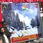 Indian Army lays foundation of 100-foot-high national flag in Gulmarg
