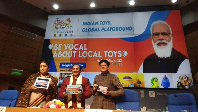 Centre Launches Official Website of India Toy Fair 2021_40.1