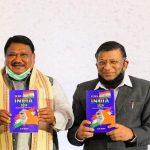 Jual Oram launches book on economic awareness in India