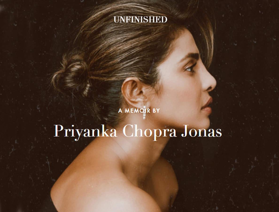 Actor Priyanka Chopra Jonas' memoir named 'Unfinished'_40.1