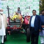 Gadkari launches India's first CNG Tractor