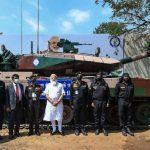 Prime Minister hands over indigenous Arjun Mk-1A tank to Army