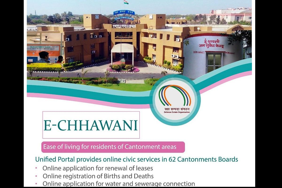 Rajnath Singh launches e-Chhawani portal for online civic services to Cantt Boards_40.1
