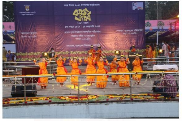 'Pahela Phagun' spring festival celebrated in Bangladesh_40.1