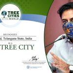 Hyderabad Recognised as '2020 Tree City of the World'