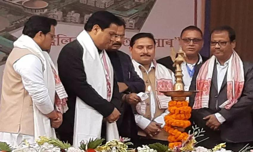 Assam CM lays foundation of first skill university of eastern India_40.1