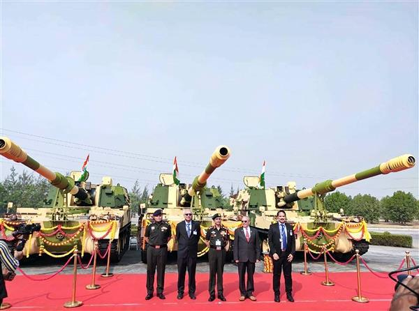 L&T delivers 100th K9 Vajra howitzer to Indian Army_40.1