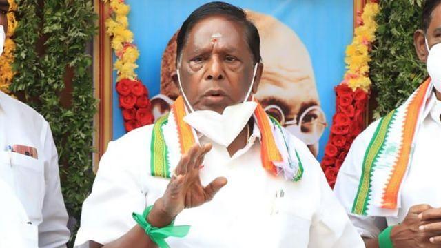 Puducherry Chief Minister V Narayanasamy Resigns_40.1