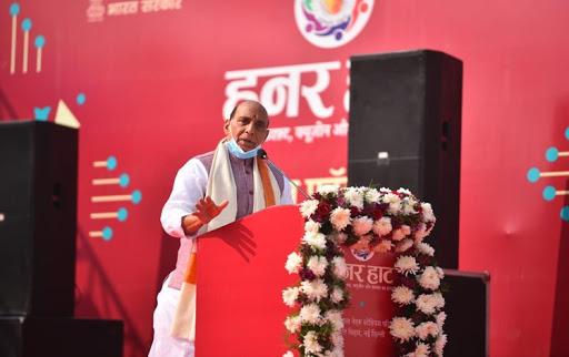 Rajnath Singh inaugurates 26th edition of 'Hunar Haat'_40.1
