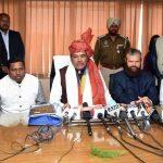 Vijay Sampla takes charge as Chairman of National Commission for SC