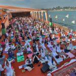 International Yoga festival begins in Rishikesh