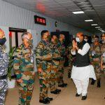 Rajnath Singh Attends 3-day Combined Commanders' Conference