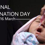 National Vaccination Day: March 16