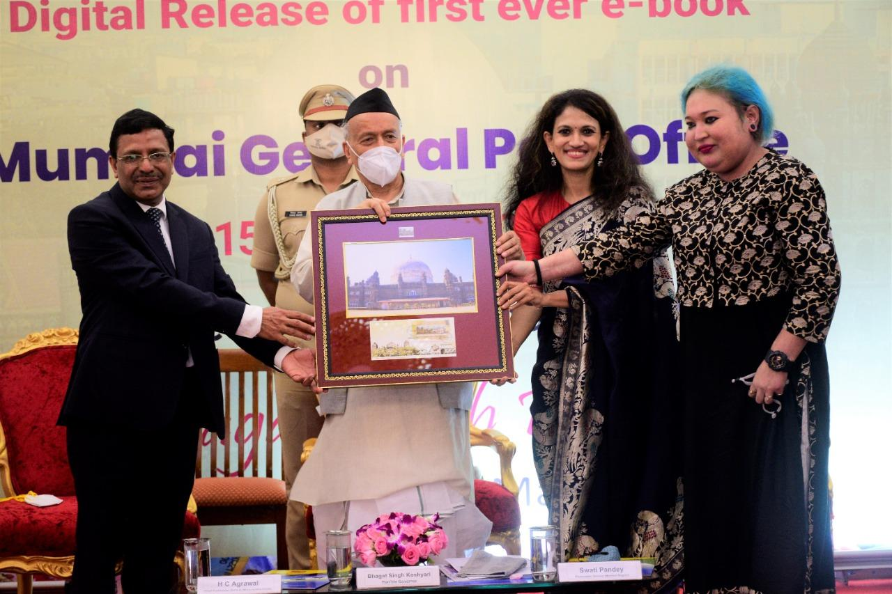 Maharashtra Governor releases e-book titled Dawn Under The Dome_40.1