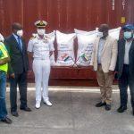 INS Jalashwa Arrives at Port Anjouan as part of Mission Sagar-IV