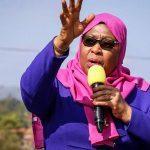 Samia Suluhu Hassan sworn in as Tanzania's first woman President