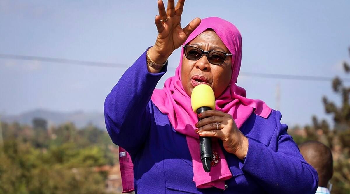 Samia Suluhu Hassan sworn in as Tanzania's first woman President_40.1