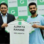 NeoGrowth appoints Ajinkya Rahane as brand ambassador