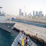 Indian Navy undertakes exercise PASSEX with Royal Bahrain Naval Force