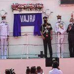 Indian Coast Guard Ship 'Vajra' commissioned to the Indian Coast Guard