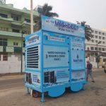 Vizag gets mobile water from air kiosk and Water Knowledge Centre