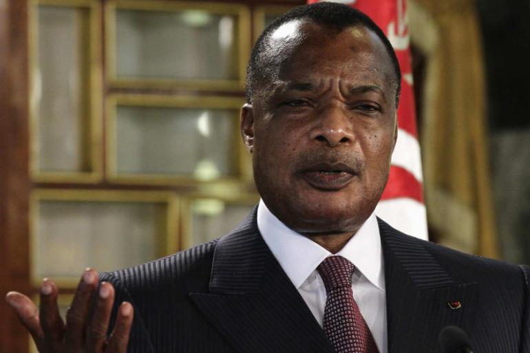 Republic of Congo President Sassou Nguesso wins election_40.1