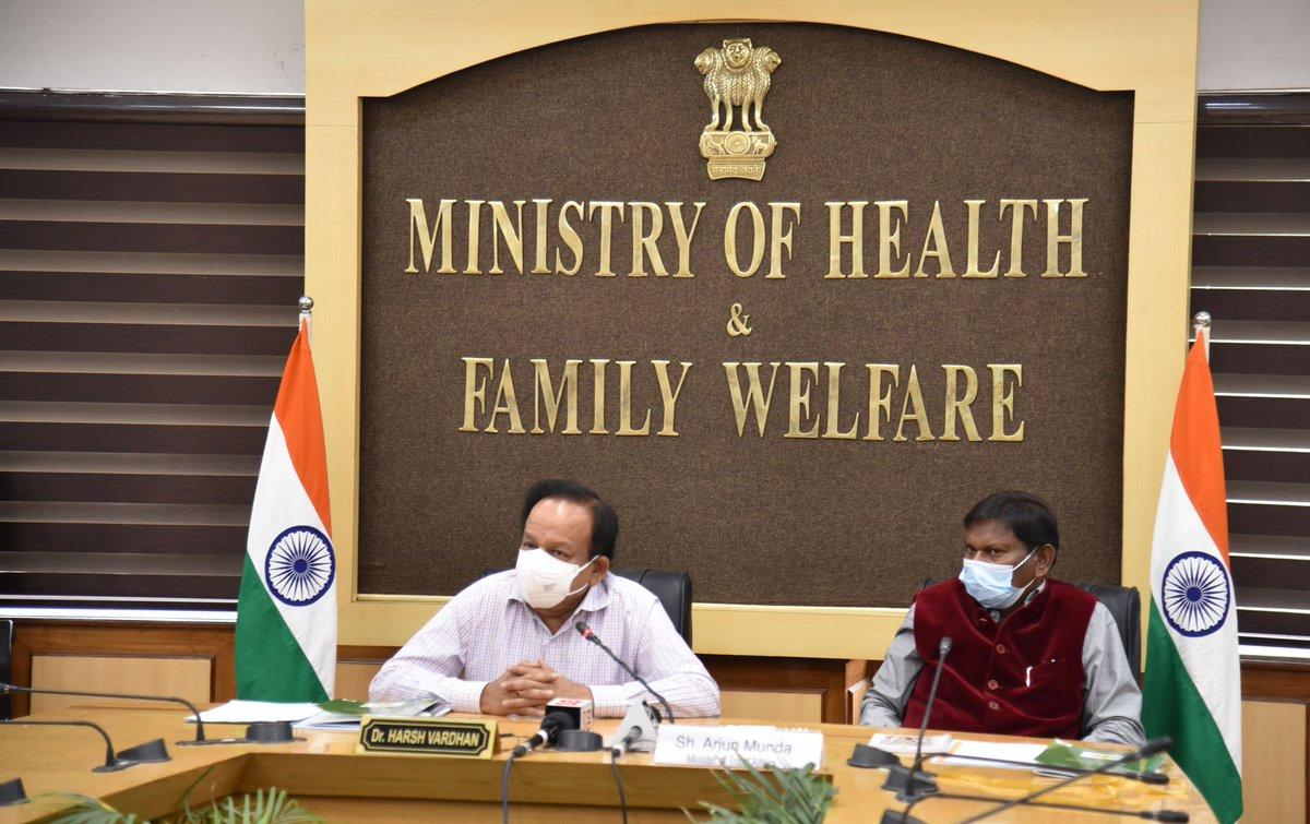 Dr Harsh Vardhan launches 'Tribal TB Initiative' in pursuit of TB Mukt Bharat_40.1