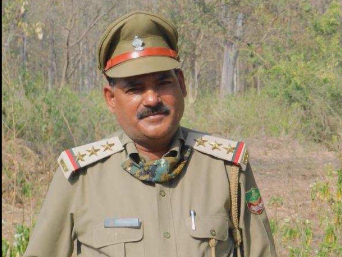 Mahinder Giri, Range Officer Won The International Ranger Award