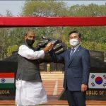 Indo-Korean Friendship Park Inaugurated at Delhi Cantonment