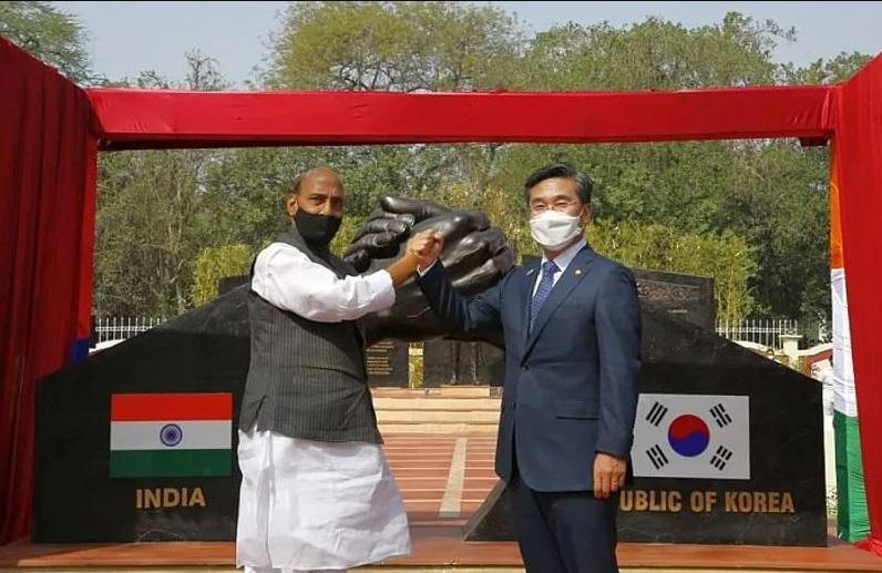 Indo-Korean Friendship Park Inaugurated at Delhi Cantonment_40.1