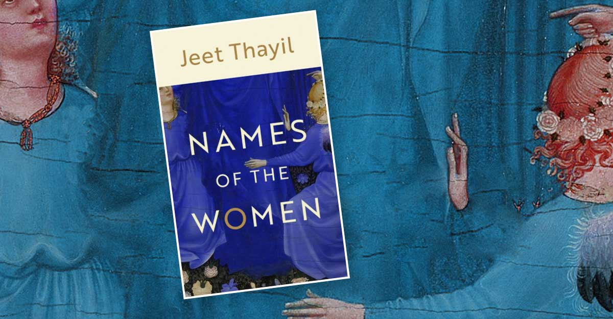 A Book Titled &Quot;Names Of The Women&Quot; By Jeet Thayil