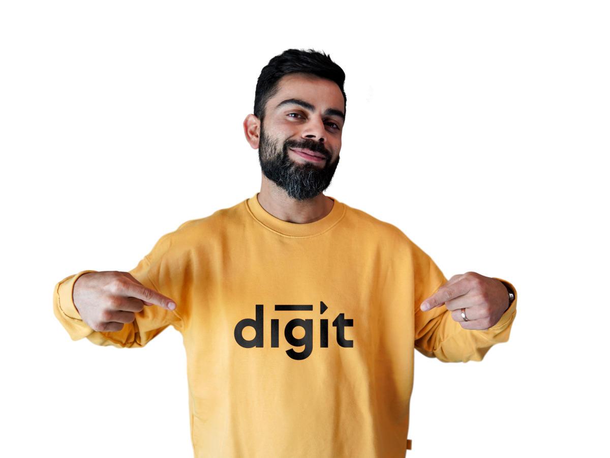 Digit Insurance roped Virat Kohli as brand ambassador_40.1