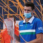 Hurkacz beats Sinner to win Miami Open