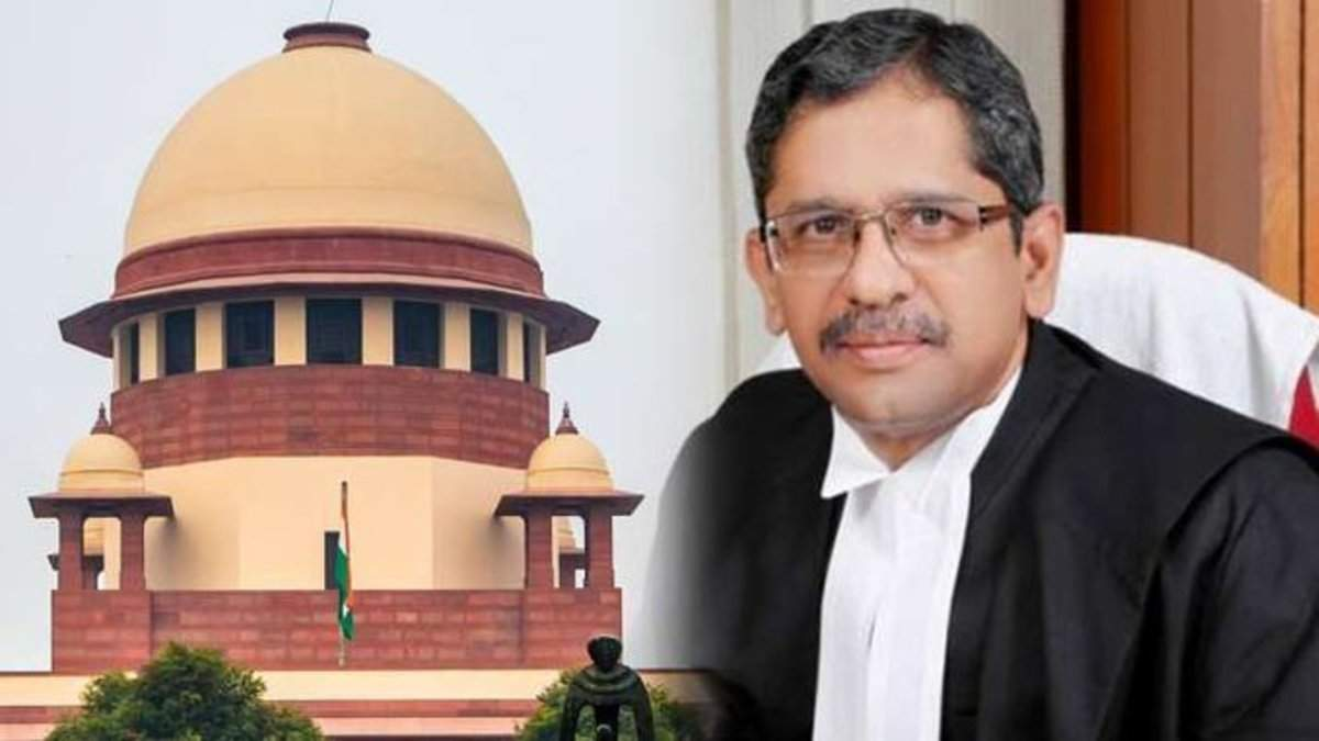 Justice N V Ramana to assume charge as next CJI_40.1