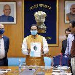 """Union Education Minister Ramesh Pokhriyal launches """"NanoSniffer"""""""