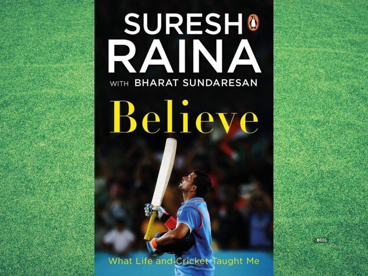 Suresh Raina's memoir 'Believe' to release in 2021_40.1