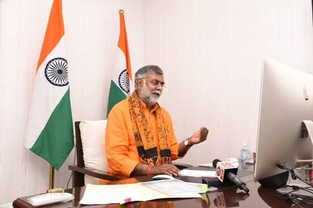 Prahlad Singh Patel inaugurates first-ever online exhibition on Ramayana_40.1