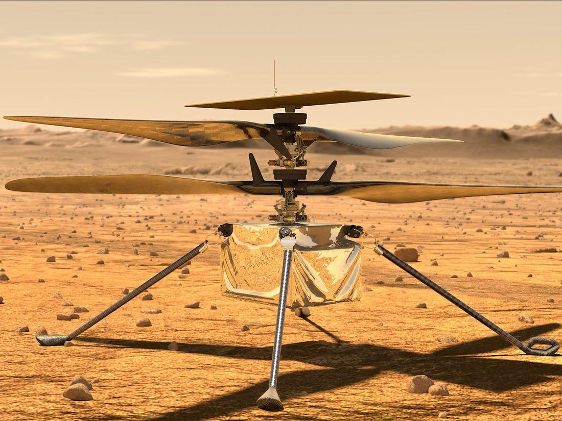 NASA's Ingenuity Helicopter Takes Flight On Mars_40.1