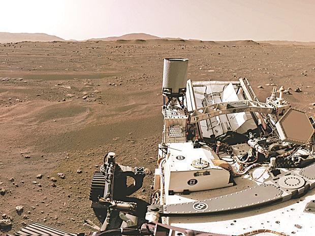 NASA's Perseverance Mars rover extracts first oxygen from Red Planet | নাসার অধ্যবসায় মঙ্গল রোভার রেড প্ল্যানেট থেকে প্রথম অক্সিজেন উদ্ধার করে    _40.1