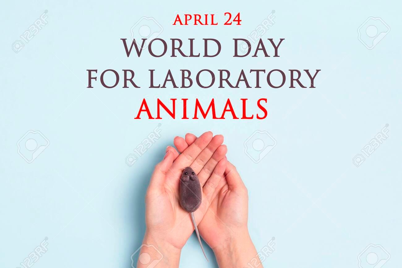 World Day for Laboratory Animals : 24 April_40.1
