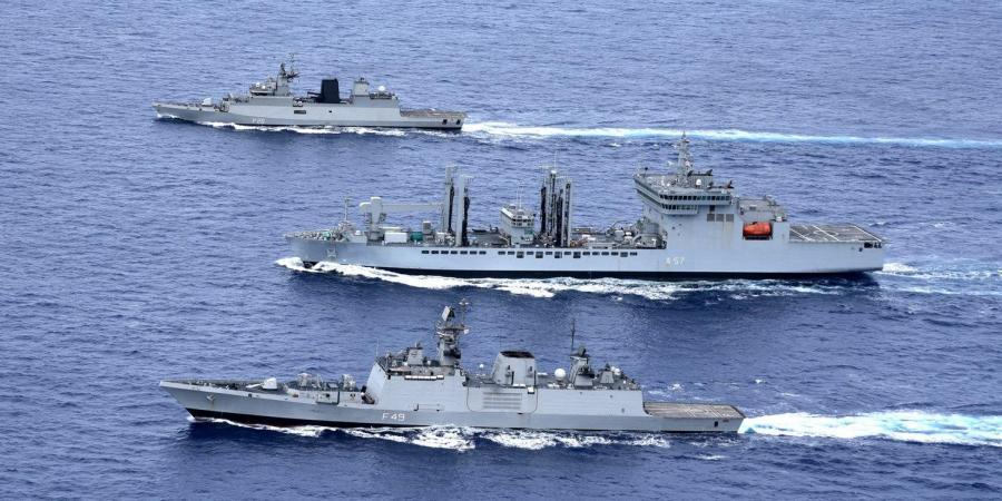"19th India-Franch Naval Exercise ""VARUNA"" begins_40.1"
