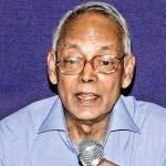 Veteran Indian Nuclear Scientist Krishnamurthy Santhanam Passes away