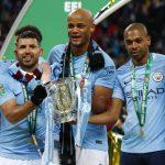 Manchester City won League Cup football tournament